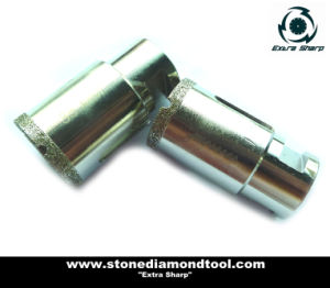 Diamond Electroplated Core Drilling Bits for Porcelain pictures & photos