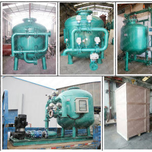 High Flow Quartz Sand Filter Cylinder for Water Treatment pictures & photos