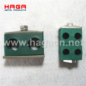 Hydraulic Double Plastic Tube Clamp pictures & photos