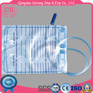 High Quality Urine Drainage Bag with Push Pull Valve pictures & photos