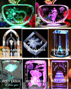 3D Crystal Laser Engraving Machine for Christmas Gift Hsgp-4kb pictures & photos