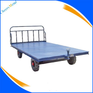 Sc020f Fully Sealed with Sliding Door Aviation Baggage Trolley Trailer pictures & photos
