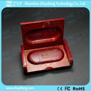 Laser Logo Wooden Box Wood 4GB USB Drive (ZYF1349)