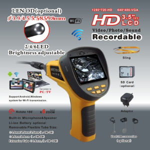 WiFi Borescope with LCD Screen