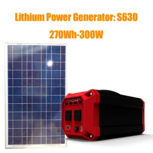 330wh High Quality off-Grid Solar Panel Kit with Battery pictures & photos