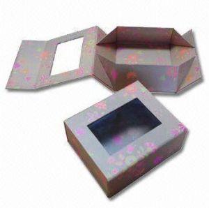 Folding Window Magnet Colorful Box