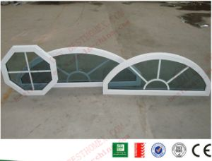 China Manufacturer of PVC/UPVC Arched Casement Window pictures & photos