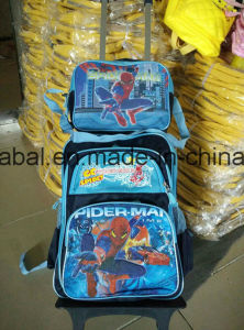 Kids Trolley School Bag Lunch Bag Set pictures & photos
