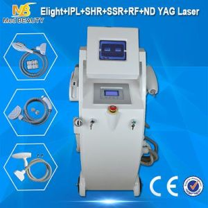 5 in 1 Europe Hot Selling E-Light IPL RF ND YAG Laser Multifunction Machine pictures & photos