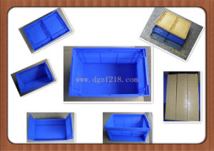 Durable Plastic Folding Storage Container for Warehouse Supplier From China