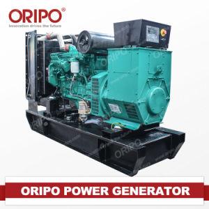 Electric Start 70kw Cummins Open Type Diesel Generator Set pictures & photos