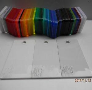 100% Virgin Material White Sanitary Grade Cast Acrylic Sheet pictures & photos