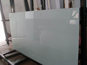 2-6mm Colorful Back Painted Glass/Lacquered Glass, /Lacobel Glass for Decoration with Ral pictures & photos