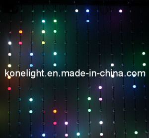 Kone--Durable and Portable LED Video Ball Curtain for Stage Decoration