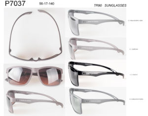 Popular Wholesale Stock Tr90 Fashion Sunglasses P7037 pictures & photos