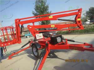 4-14m Working Level Articulated Boom Lift pictures & photos