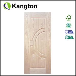 Red Walnut Veneer Door Skin (door skin) pictures & photos