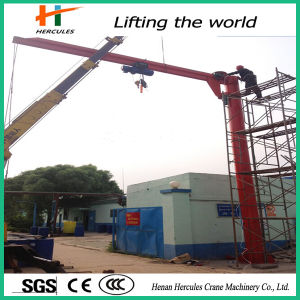 Hercules Factory Direct Sales Rotating Jib Crane pictures & photos