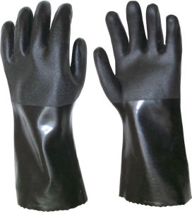 Heavy Duty PVC Coating Gloves pictures & photos
