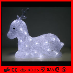Sitting Christmas Outdoor LED Decoration Motif Reindeer Light pictures & photos