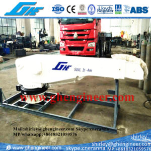 1t 2t Electrical Telescopic Boom Yacht Crane pictures & photos