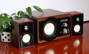 High-End 2.1 Channel All Wooden Speaker for Home Theater pictures & photos