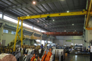 High Quality Gantry Crane with Wire Rope Hoist