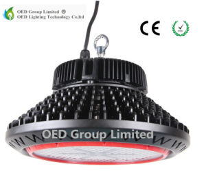 UFO LED High Bay Lamp with 100-130lm/W Black Case CRI80 and 3030SMD Bridgelux Chip pictures & photos