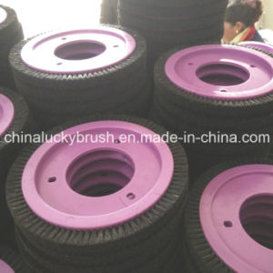 Pure Black Bristle Round Brush for Lk Textile Machine (YY-423) pictures & photos