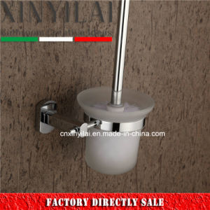 Chrome Brass Accessories of Toilet Brush Holder for Hotel Bathroom pictures & photos