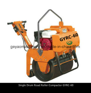 Excellence 4.0kw/5.5HP Single Drum Road Roller Compactor Gyrc-60 pictures & photos