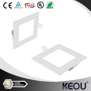170X170mm 12W Dimmable Rectangualr LED Panel Light pictures & photos