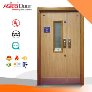 Wooden Fire Door with British BS476 Certified/Safety Door/Wood Door pictures & photos