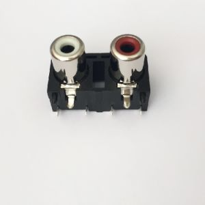 AV Socket with The Core Lotus Single-Hole RCA Socket Audio and Video Terminals AV2-8.4-20 pictures & photos