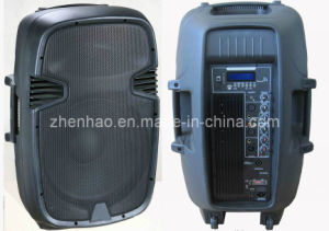15′′ 2way Plastic DJ Speaker Box with USB SD FM Blue Tooth (PS-1215BT) pictures & photos