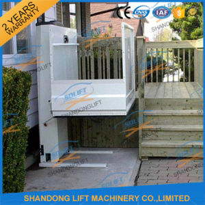 Hydraulic Outdoor Aluminum Alloy Wheelchair Elevator Lift pictures & photos