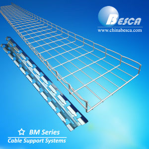 Stainless Steel Wire Mesh Cable Tray with CE and UL and SGS Listed Manufacturer