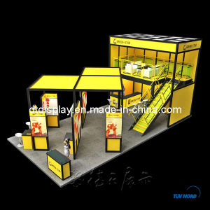 Decent Yellow Double Deck Booth (DT000123)