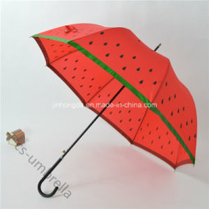 "Mushroom Shape Cover 22""X8k Straight Sun Umbrella (YSS0147-2) pictures & photos"