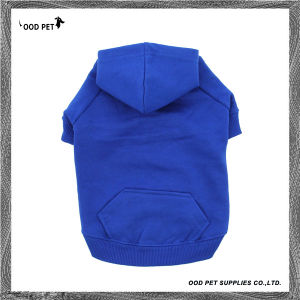 Royal Blue Blank Basic Dog Hoodies Sph6001-1 pictures & photos