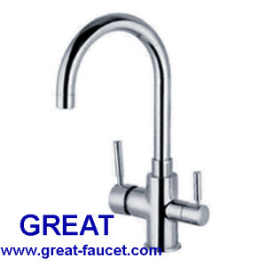 Brass Pure Water Kitchen Faucet pictures & photos