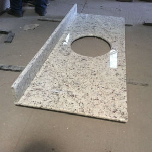 White Rose Granite Vanity Top for Bathroom pictures & photos