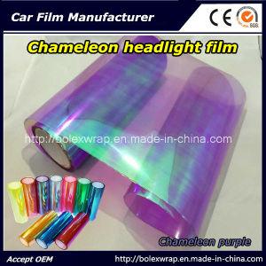 Chameleon Purple Car Light Vinyl Sticker Chameleon Car Headlight Tint Vinyl Films Car Lamp Film pictures & photos