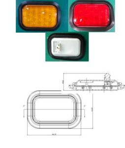 Tail/Stop/Turn Signal Reflector Lamp Lt-123 with E4 E9 Certification pictures & photos