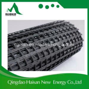 Bitumen Coated Fiberglass Geogrid 25/25~100/100kn/M pictures & photos