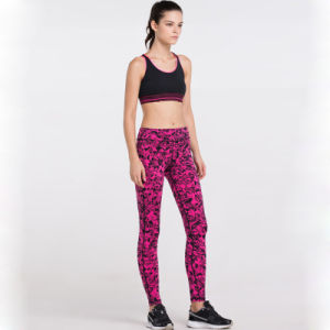 Digital Printing Women Leggings Spandex Yoga Pants Fitness Pants pictures & photos