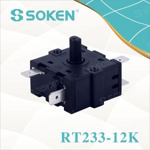 Nylon Rotary Switch with 7 Positions (RT233-12K) pictures & photos