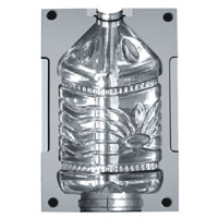 Semi Automatic One Cavity 5 Gallon Pet Bottle Mould pictures & photos