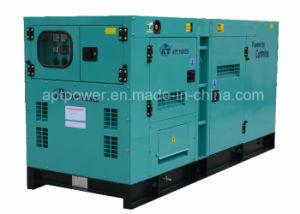 Ce ISO Doosan 60Hz Silent Diesel Generator, 100kVA 80kw Diesel Engine Generator pictures & photos