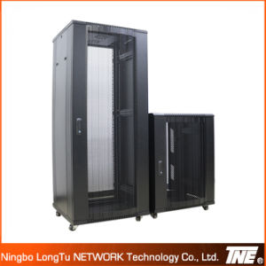 Sever Racks with High Ventilation Hexagonal Hole Arc Vented Door pictures & photos